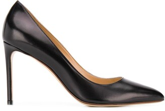 Francesco Russo Pointed Heel Pumps