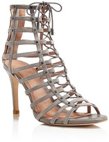 Joie Rhoda Caged Lace Up High Heel Sandals