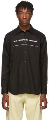 Undercover Black A Clockwork Orange Print Shirt
