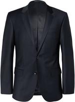 Hugo Boss - Navy Hayes Slim-fit Wool-blend Suit Jacket