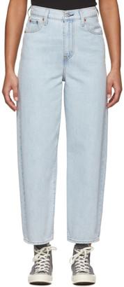 Levi's Levis Blue Balloon Leg Jeans
