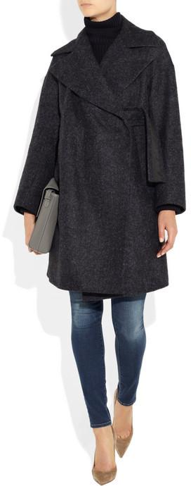 Jil Sander Alpaca-blend coat