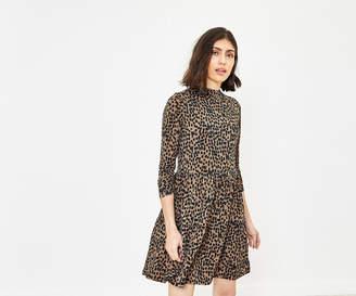 Oasis Brushstroke Smock Dress