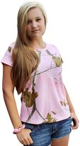 Camo Chique Ladies Realtree Pink Camo Tshirt S-2X (XX-Large, )