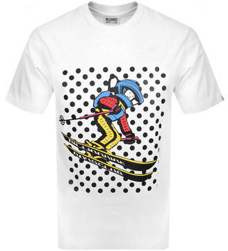 Billionaire Boys Club Space Ski Logo T Shirt White