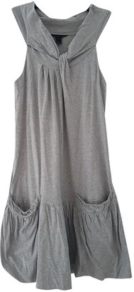 Marc by Marc Jacobs Grey Cotton Dresses
