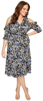 Kiyonna Barcelona Wrap Dress Women's Dress