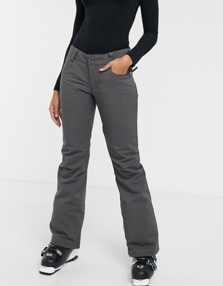 Billabong Terry ski pant in charcoal
