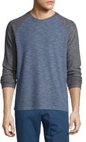 Theory Jordun Colorblock Raglan-Sleeve T-Shirt, Illumination Multi