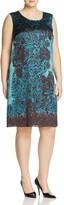 Marina Rinaldi Dare Printed A-Line Dress