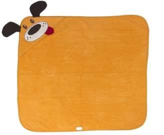 Bolin Bolon Fantasy 1600807017500 Bath Cape Sponge 100% Cotton Orange with Dog Motif