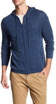 Autumn Cashmere Zip Up Knit Hoodie