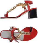 Luca Valentini Thong sandals
