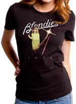 Goodie Two Sleeves Black Blondie 1978 Tee - Juniors