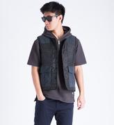 Whiz Black Leopard Vest