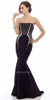 Nika Lana Strapless Evening Dress