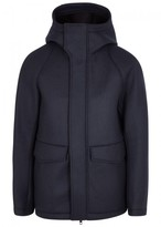 J.lindeberg Ivory 77 Hooded Wool Jacket
