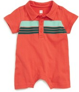 Tea Collection Infant Boy's Werribee Polo Romper