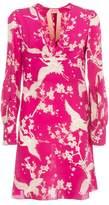 N°21 N.21 Bird Print Dress