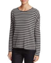 Eileen Fisher Boxy Stripe Sweater