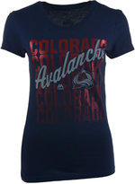 VF Licensed Sports Group Women's Colorado Avalanche Hip Check T-Shirt