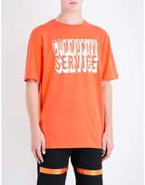 Heron Preston Community Service Cotton T-shirt