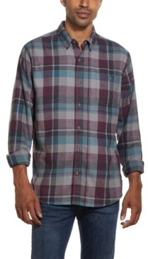 Weatherproof Vintage Men's Antique Plaid Flannel Shirt
