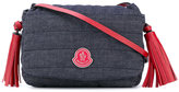Moncler quilted tassel shoulder bag - kids - Cotton/Polyester/Spandex/Elastane - One Size