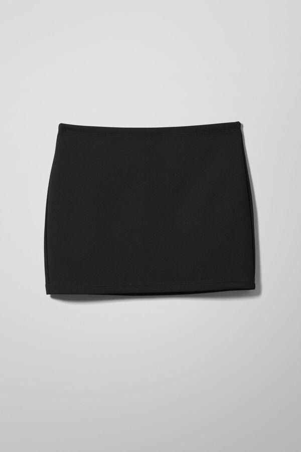 Thumbnail for your product : Weekday Esmeralda Mini Skirt - Black