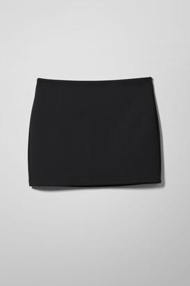 Weekday Esmeralda Mini Skirt - Black