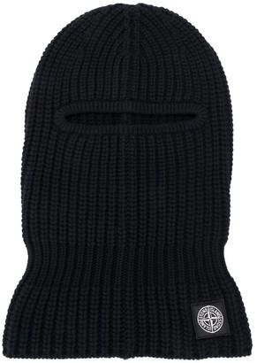 Stone Island Logo Wool Balaclava
