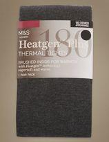 Marks and Spencer 180 Denier HeatgenTM Brushed Thermal Opaque Tights