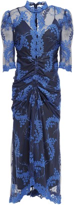 Alice McCall Honeymoon Asymmetric Embroidered Tulle Dress