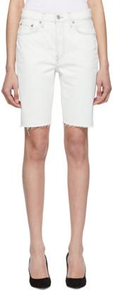 RE/DONE Off-White Originals Denim 80s Long Shorts