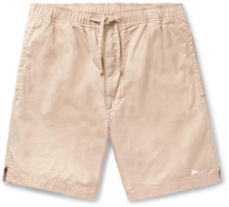 Pilgrim Surf + Supply Cheyne Hang Slim-Fit Cotton-Twill Drawstring Shorts