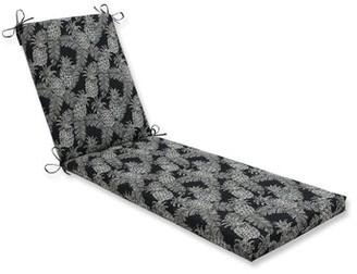 Bay Isle Home Emeline Batik Indoor/Outdoor Chaise Lounge Cushion Fabric: Noche