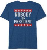 JEM Men's Nobody for President Graphic-Print T-Shirt