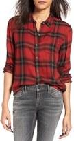 Obey Women's Ammalyn Plaid Shirt