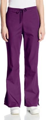 Cherokee Women's Plus-Size Fashionable Flare Leg Drawstring Pant