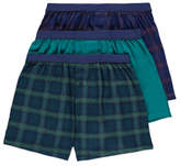 George 3 Pack Assorted Jersey Boxers