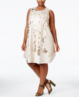 Rachel Roy Trendy Plus Size Sequin Shift Dress