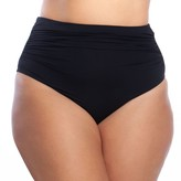 Chaps Plus Size Tummy Slimmer High-Waisted Bikini Bottoms