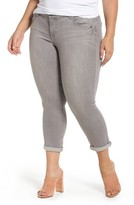 Democracy Plus Size Women's Ab-Solution Ankle Skimmer Jeans