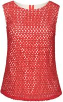 Wolfwhistle Wolf & Whistle Red Crochet Top