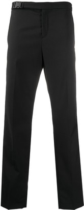 Karl Lagerfeld Paris Logo Lined Tailored Trousers