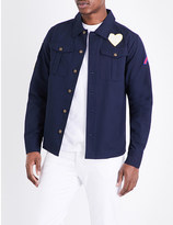 Billionaire Boys Club Embroidered pure-cotton shirt