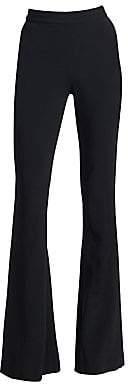 Brandon Maxwell Women's Tuxedo Flare Trousers