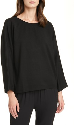 Eileen Fisher Bell Sleeve Pullover