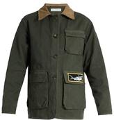 J.W.Anderson Shark-patch cotton jacket