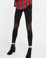 Express pieced mesh legging